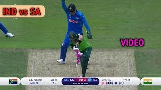 India vs Sauth Africa | ICC Cricket world cup 2019 - match Highlights | ind vs sa match video