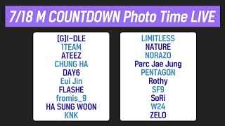 7/18 M COUNTDOWN Photo Time LIVE