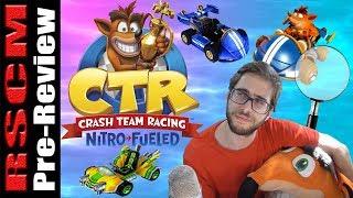REACCIÓN y ANÁLISIS del 1er trailer de CRASH TEAM RACING NITRO-FUELED
