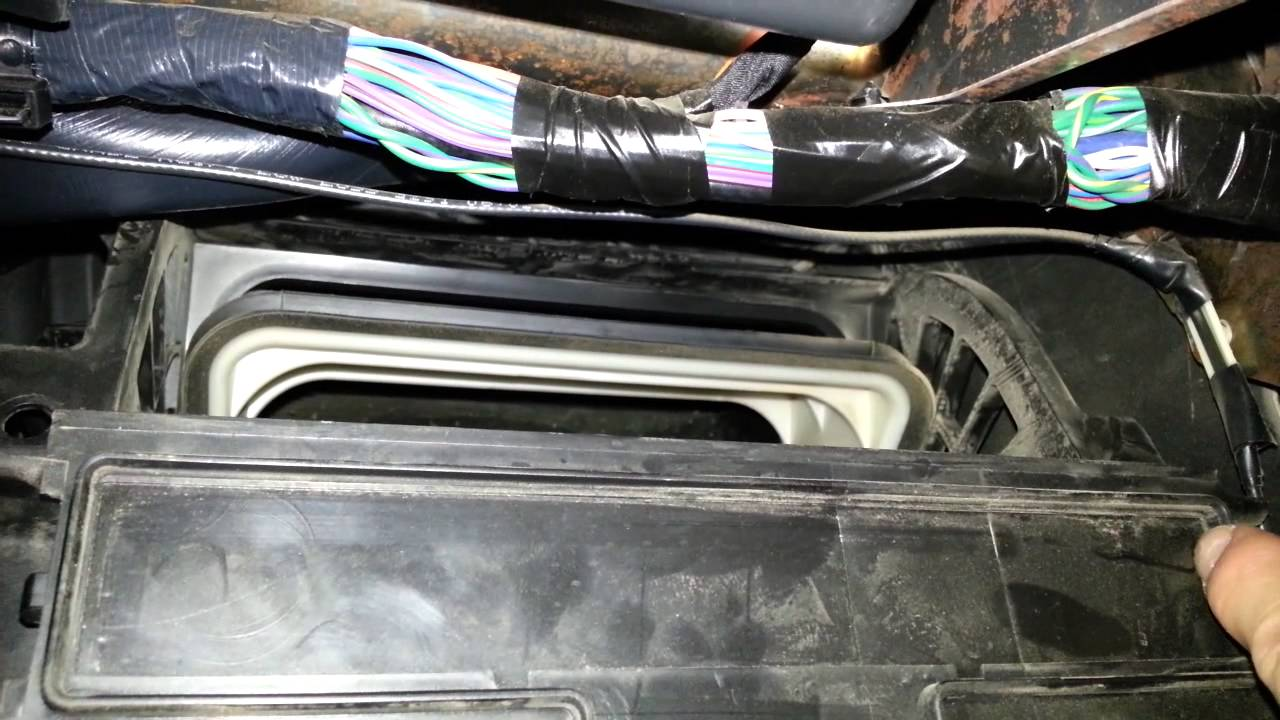 2012 Dodge Ram 1500 Area To Cut Out To Install Cabin Air