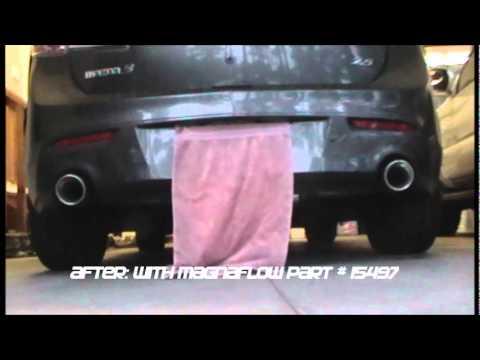 Mazda 3 (2.5L) w/ Magnaflow Cat Back Exhaust. Part # 15497