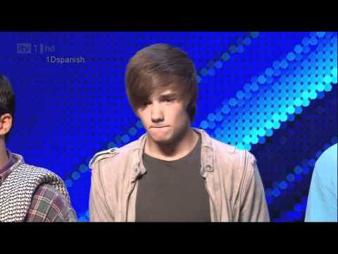 Liam, Niall y Harry lloran en The X Factor (Sub. en Español)