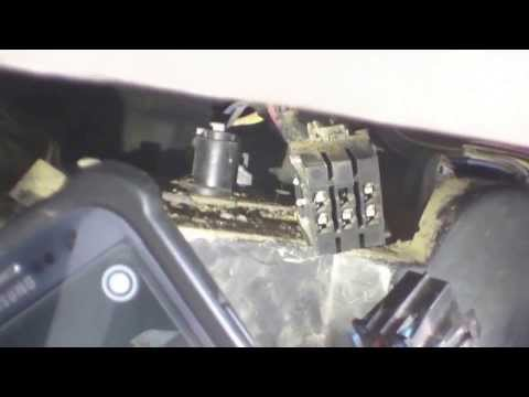 How To: Blower Motor and Resistor replacement 1996 GMC 2500