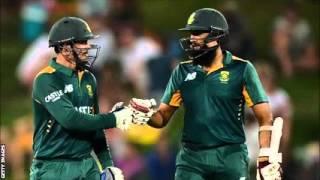 South Africa v England: De Kock and Amla make superb hundreds