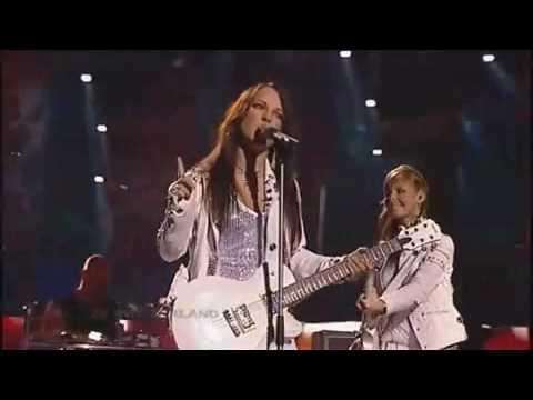Vanilla Ninja - Cool Vibes live at Eurovision 2005