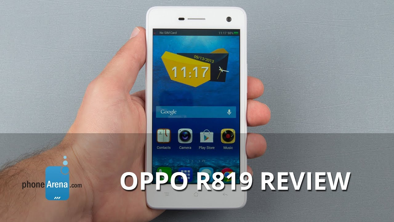 oppo r819 review   youtube