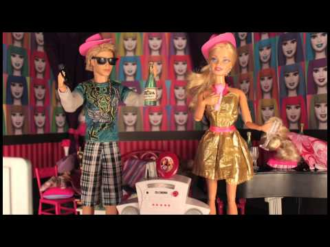 New Year's Eve - A Barbie Parody In Stop Motion *for Mature Audiences* video