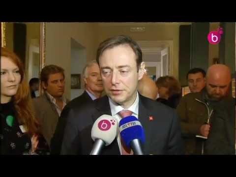 Bart De Wever présente son livre à Bruxelles