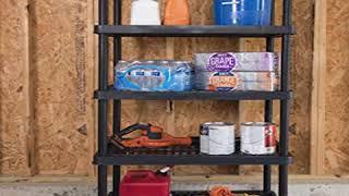 SAVE 5-Shelf Heavy Duty Utility Freestanding Ventilated Shelving Unit