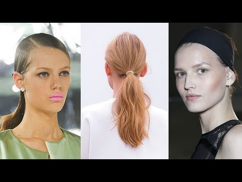 3 Easy Hair Style Trends From New York Fashion Week | Fashion Week Spring 2014