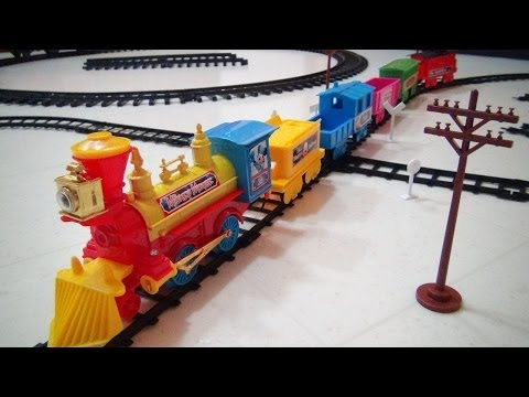 DISNEY TOY TRAIN PLAYSET YOUTUBE VIDEO REVIEW BY MITCH SANTONA Music Videos