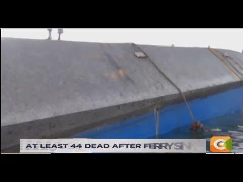 Tanzania ferry sinks