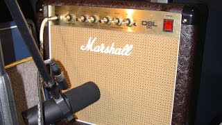 5 Watt Tube Amp Shootout Pt2: Laney Cub10, VHT Special 6, Vox AC4, Marshall DSL 5, Career Felleretta