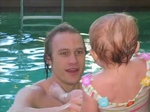 Heath Ledger - Rare behind the scenes video