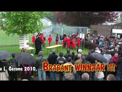 Part 3,  Tornooi Belgie,  BRABANT WINNAAR!!!