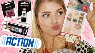 NIEUWE (!) ACTION MAKE-UP TESTEN!! | Kristina K ❤
