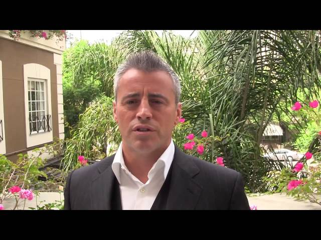 Matt LeBlanc talks about the character Matt LeBlanc