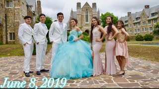 OUR SISTER GISSELLE'S QUINCEAÑERA VLOG