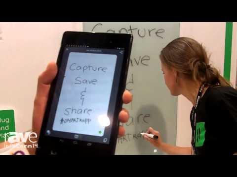 InfoComm 2014: SMART Technologies Demonstrates New SMART Kapp Dry Erase Board
