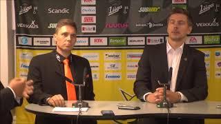 SaiPa-KooKoo -lehdistötilaisuus 8.9.2017