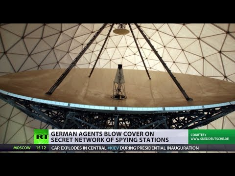 Mysterious facilities turned out to be nationwide spy stations in Germany
