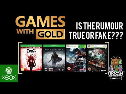 Xbox - Games With Gold October 2017 Rumour Review Xbox One & Xbox 360 Free Games