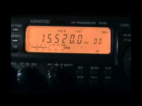 Bangladesh Betar (Dhaka, Bangladesh) - Test transmission with distorted audio - 15520 kHz