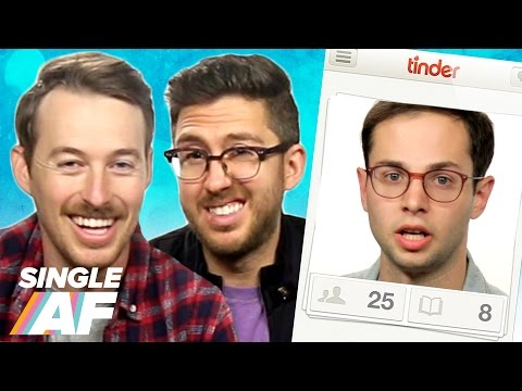 Strangers Ran My Tinder For A Week (feat. Jake & Amir) • Single AF
