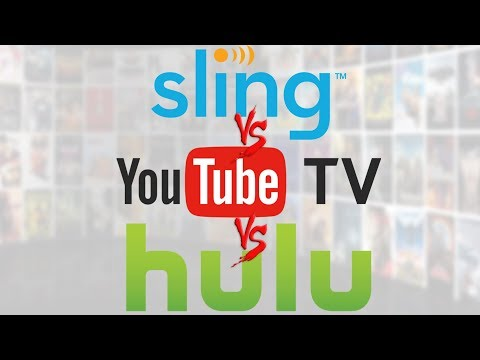 Streaming Showdown - Sling TV vs. Youtube TV vs. Hulu Live