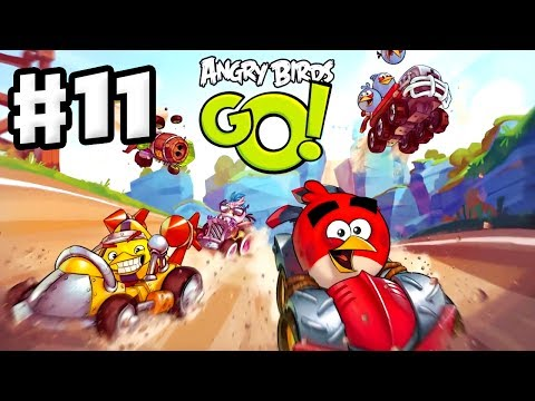 Angry Birds Go! Gameplay Walkthrough Part 11 - Earning Coins! Rocky Road (iOS, Android)