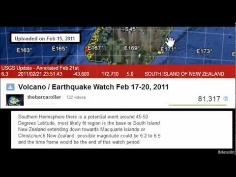 2013-2015 New Zealand Earthquake Forecast