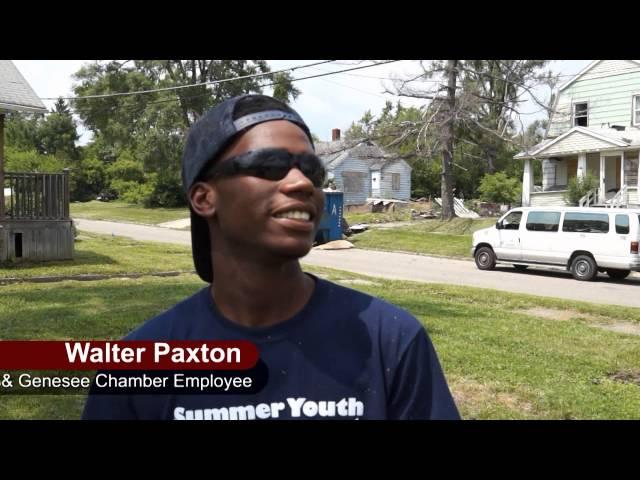 Flint & Genesee Chamber Commerce Summer Youth Employment Program 2014