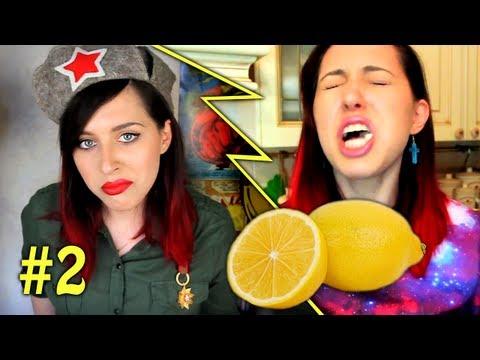 Вызов Принят: Поедание Лимонов, CHUBBY BUNNY, NO MIRROR MAKEUP