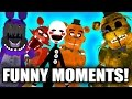 Gmod Five Nights At Freddy's FUNNY MOMENTS MONTAGE!