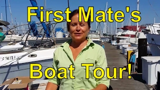 First Mate's Boat Tour!
