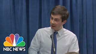 Democrat Pete Buttigieg Reflects On Running As Openly Gay Presidential Candidate | NBC News
