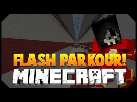 Minecraft: FLASH PARKOUR MINI-GAME w/JeromeASF, Vikkstar123HD & More!