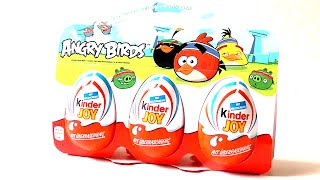 [3 Angry Birds | Kinder Joy | Surprise Eggs | DailySurprise] Video