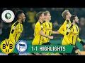 Borussia Dortmund vs Hertha Berlin 3-2 All Goals and Highlights + Penalty Shootout    090217 HD