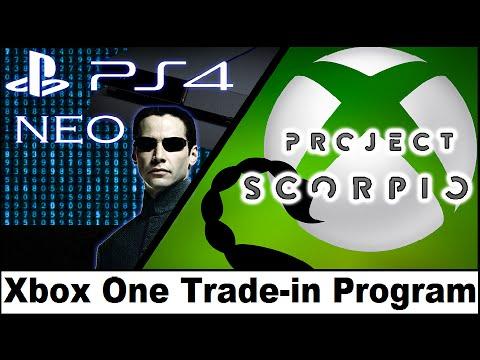 Sony Disses Xbox Scorpio. Microsoft To Offer Xbox One Trade in Program for Xbox One Scorpio