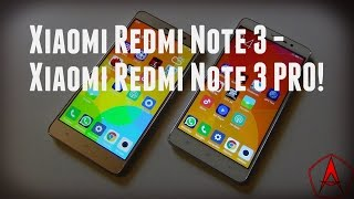 Xiaomi Redmi Note 3 или Redmi Note 3 PRO!? / Арстайл /