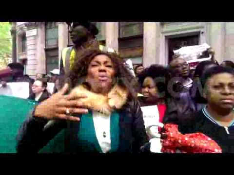 Live : Bring Back Our Girls protest outside Nigeria High Commission