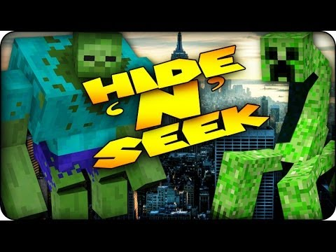 Minecraft Mods - MORPH MOD HIDE AND SEEK - MUTANT CREATURES! (Mutant / Morph Mod)