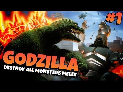 Godzilla: Destroy All Monsters Melee | Part 1 - Godzilla! video