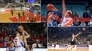 Legendarne TROJKE srpske košarke   HISTORICAL SHOTS FOR THREE POINTS