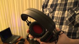 ASUS Orion Headset & Essence One Muses Edition Amp & DAC - Linus Tech Tips CES 2013