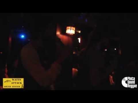 Photo Sound Reggae: Watts Attack meets Jah Life Intl. Tune fi Tune - Roots Reggae Dance 11/04/2015