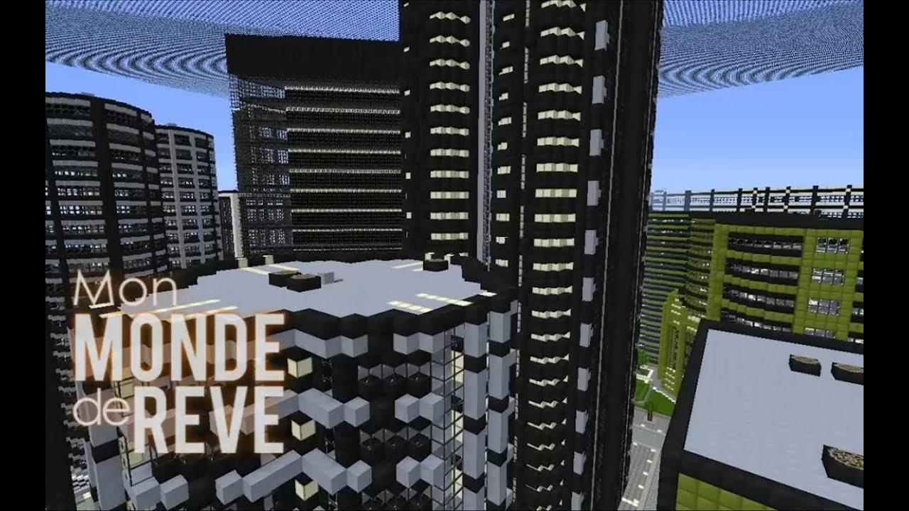 ville moderne minecraft