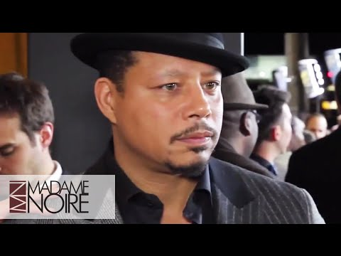 Terrence Howard & 'Empire' Cast Red Carpet Interview | MadameNoire