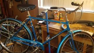 Patina Bicycle Rescue 1960s Chicago Schwinn Racer Completed